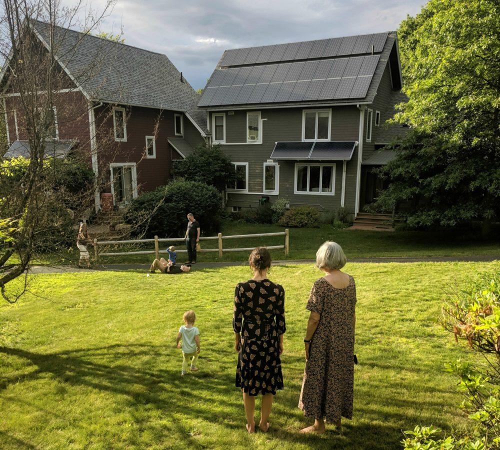 Ben Brock Johnson's NPR article about cohousing